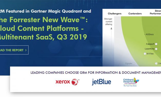A Strong Performer – Forrester New Wave Report